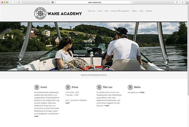 Wake Academy Website