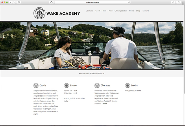 Wake Academy Website